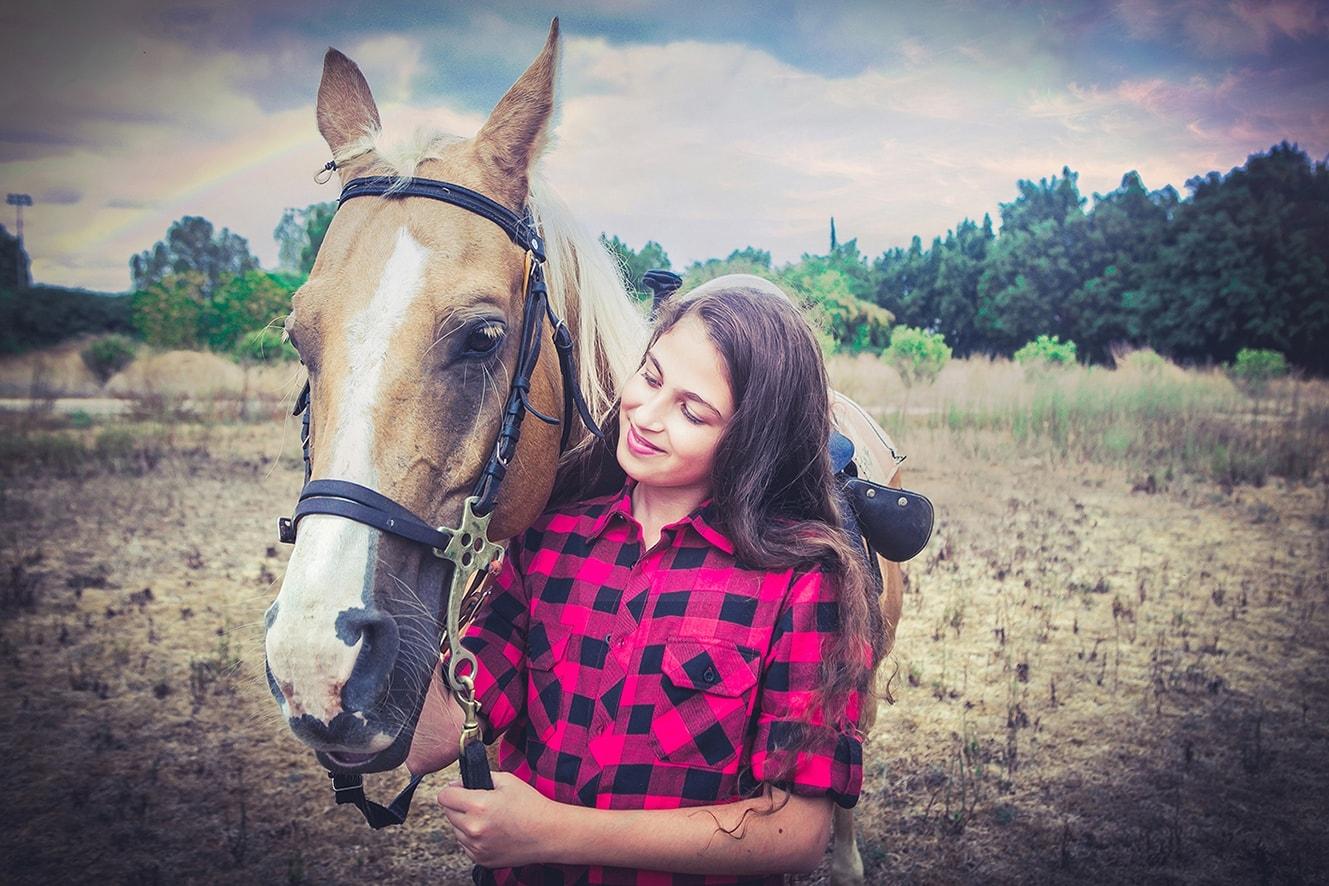 בוק בת מצווה בחוות סוסים מושב מזור