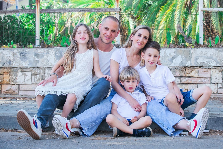 צילומי משפחה בכפר